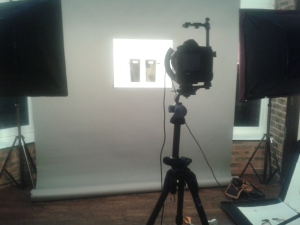Day in the studio.