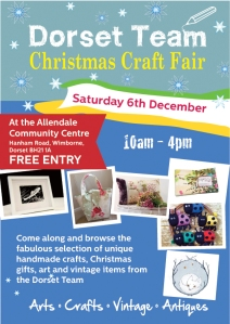 Wimborne Christmas craft fair