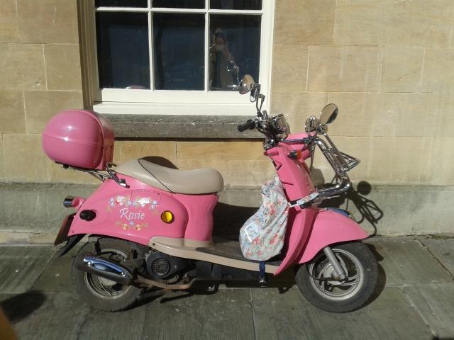 Pink ped