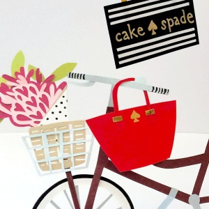 Isobel Barber illustration paper Kate Spade patisserie